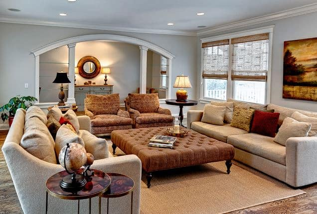 11 steps to a cozy room no fireplace needed worthing for Living room ideas no fireplace